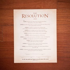 Courageous Men Resolution