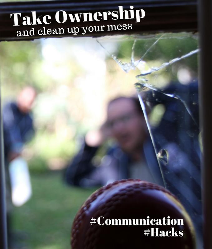 Communication hack #1 – Ownership